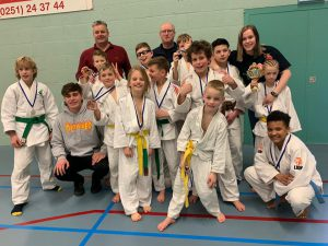 Jeugdteam West Friese Judo Competitie WJFC WFJJC